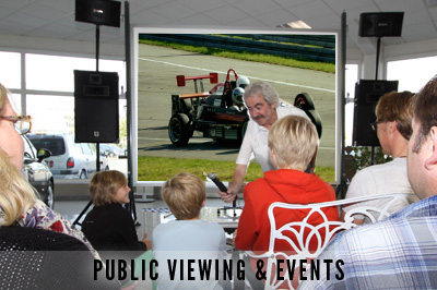 Pubic Viewing & Events
